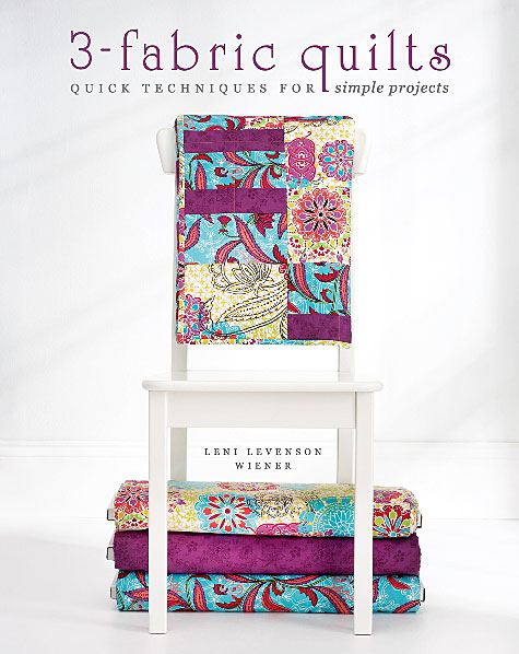 3 Fabric Quilts, a book by Leni Wiener