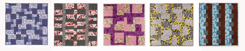 3 Fabric Quilts book photos
