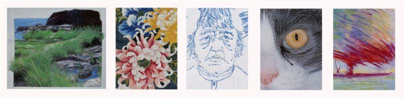Thread Painting book photos
