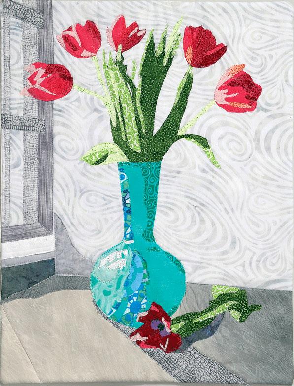 Art quilt by Leni Wiener